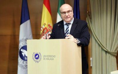 Benjamín del Alcázar, nuevo decano de la Facultad de Comercio y Gestión de la Universidad de Málaga
