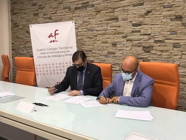 CAF Málaga y Pulso Energía firman un convenio de colaboración