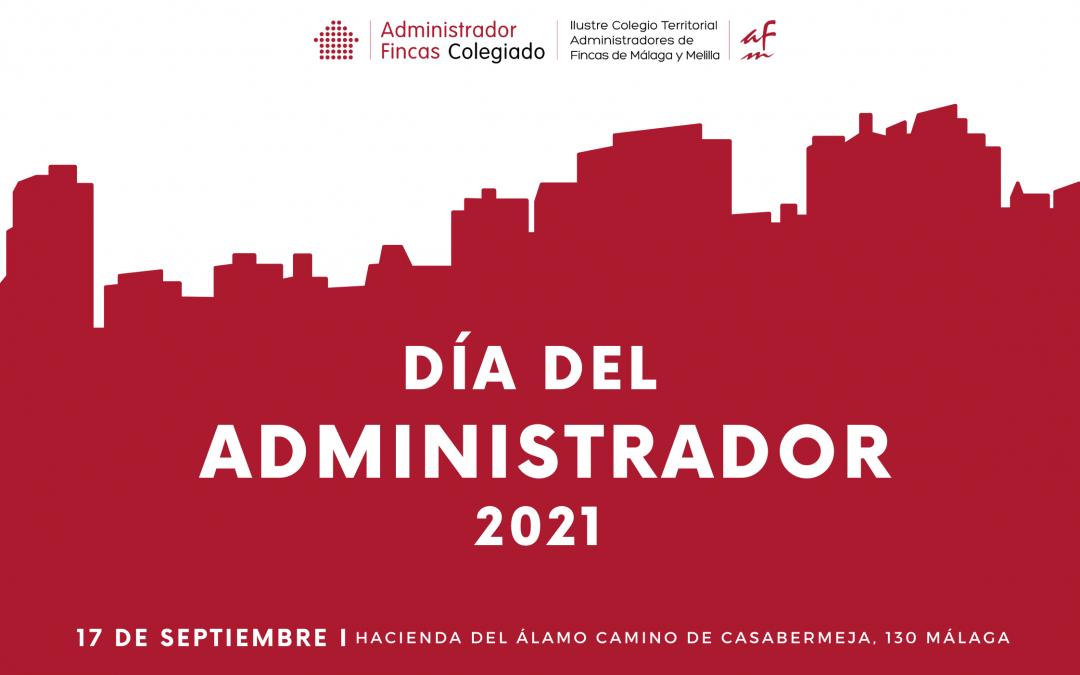 El 17 de septiembre se celebrará el 'Día del Administrador' y el 50 aniversario del CAF Málaga