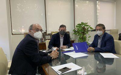CAF Málaga y Aquapurif firman un acuerdo de colaboración