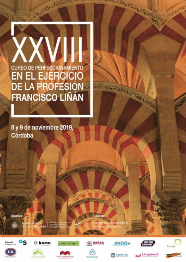 Proceso de inscripción ya abierto para el XXVIII Curso Francisco Liñán