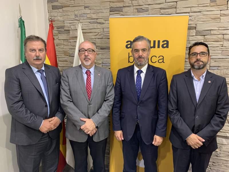 CAF Málaga y Arquia Banca firman un convenio de colaboración