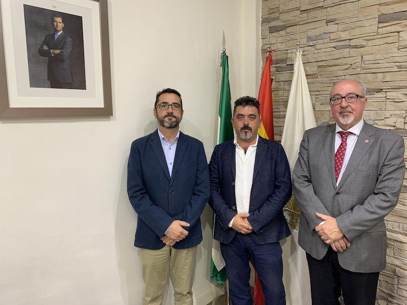 CAF Málaga y Automatismos Alarcón firman un convenio de colaboración
