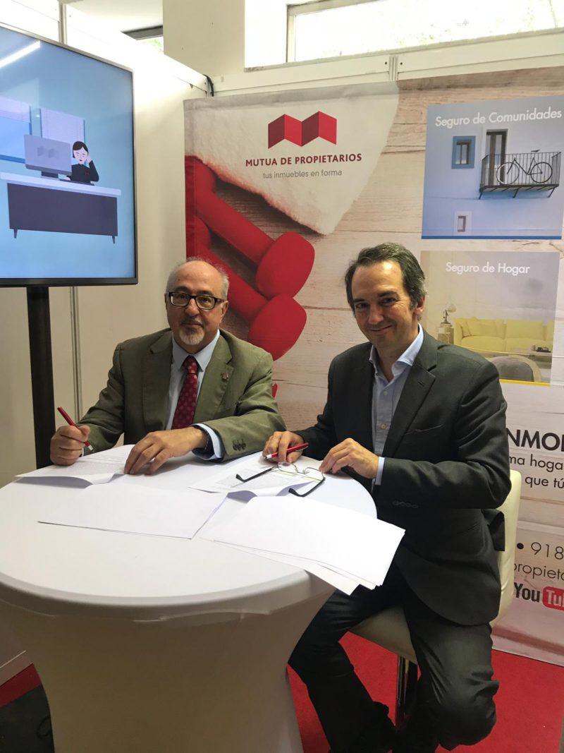 CAF Málaga y Mutua de Propietarios consolidan su colaboración con la firma de un nuevo convenio